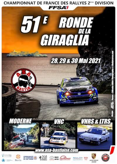 Itinéraires des étapes de la 51ème Ronde de la Giraglia, samedi 29 et dimanche 30 mai 2021