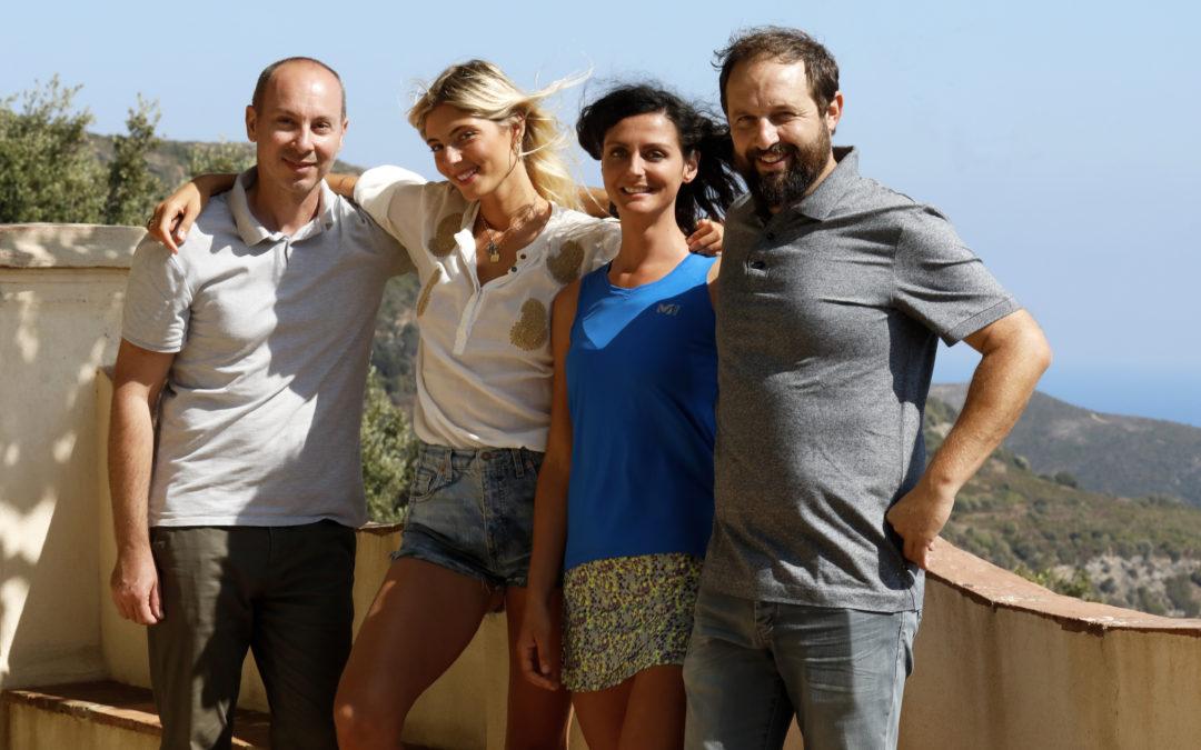 L'office de tourisme du Cap-Corse lance sa campagne de promotion « Bien-être au Cap-Corse » avec ses deux ambassadrices Carla Mattei et Pecurina.
